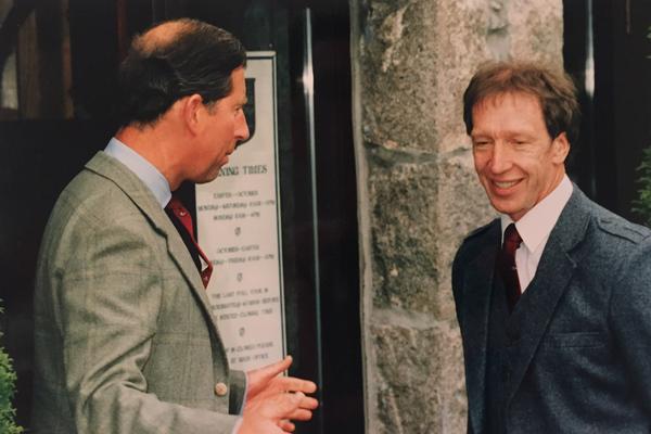 Meeting HRH Prince Charles